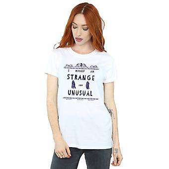 Beetlejuice Women's Strange And Unusual Boyfriend Fit T-Shirt