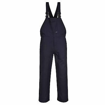 Portwest - Workwear Bib and Brace Dungarees Coverall Overall