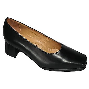 Amblers Walford Ladies Wide Fit Court / Womens Shoes