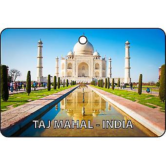 Taj Mahal - India Car Air Freshener