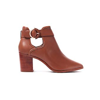 Women's Sybell Ankle Boots - Tan Leather