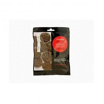 Clearspring - Og Brown rice crackers - black 40g
