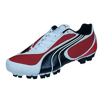 Puma V5.08 GCr HG Jr Boys Football Boots / Cleats - Red
