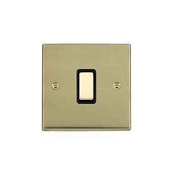 Hamilton Litestat Cheriton Victorian Polished Brass 1g 250W M-Way Touch Mast PB/BL