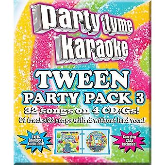 Forskellige kunstner - part Tyme Karaoke: Tween Party Pack 3 [CD] USA import