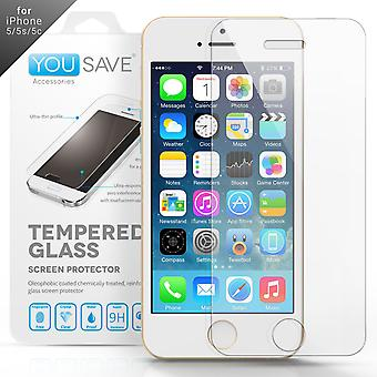Yousave Accessories iPhone 4s Glass Screen Protector