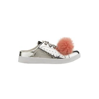 Hot Soles Trainer With Large Pom Pom Detail