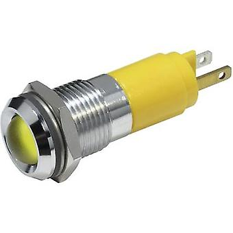 LED indicator light Yellow 12 Vdc
