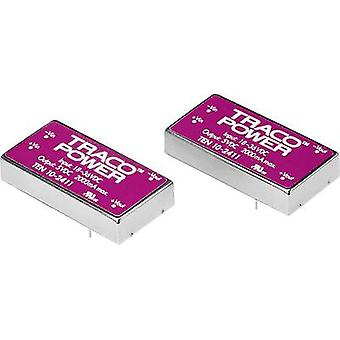 TracoPower TEN 10-1212 DC/DC converter (print) 12 Vdc 12 Vdc 830 mA 10 W No. of outputs: 1 x