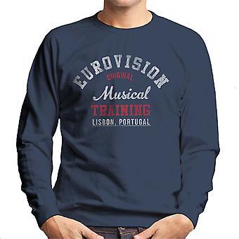 Eurovision musik utbildning Portugal mäns tröja