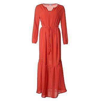 Vestido largo tejido de Saint Tropez