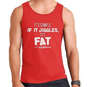 If It Jiggles Its Fat Men's Vest