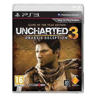 Uncharted 3 Drakes Deception Game of the Year (PS3)