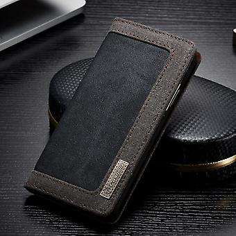 CaseMe Booktasche Flip case Apple iPhone X / 10 cover case protective case black