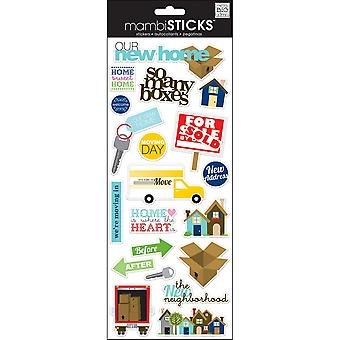 Specialty Stickers-Our New Home
