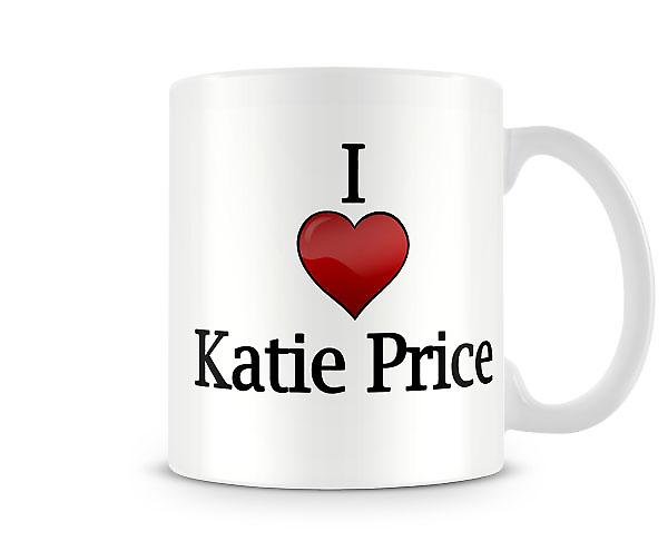 I Love Katie Price Printed Mug