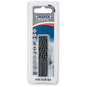 Draper H29Mc Expert 4.0Mm Hss Drills Card Of 10