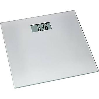 Digital bathroom scales TFA Tango Weight range=150 kg Silver