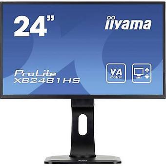 XB2481HS-B1 de Iiyama LED 59,9 cm (23,6) CEE B (A + - F) 1920 x 1080 pix completo HD 6 ms VGA, DVI, HDMI™ VA LED