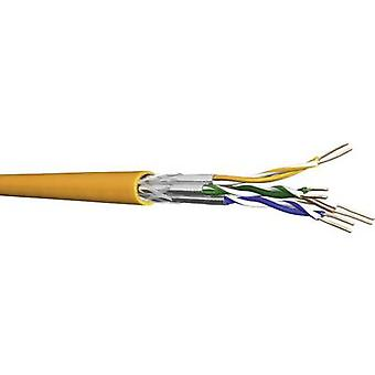 DRAKA 1001036-00250DW Network cable CAT 7 S/FTP 4 x 2 x 0.25 mm² Orange Sold by the metre