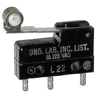 Honeywell Microswitch 111SM2-T 250 V AC 5 A 1 x On/(On) momentary 1 pc(s)