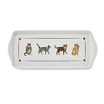 Cooksmart Cats on Parade Small Tray