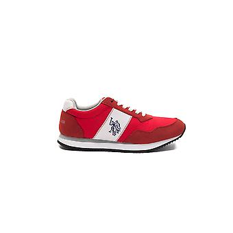 Sneakers Red Natty Us Polo Woman