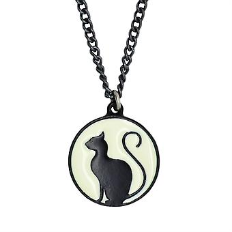 Alchemy Meow at the Moon Pendant