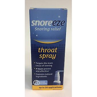 NEW Snoreeze Snoring Relief Throat Spray 23.5ml up to 50 applications