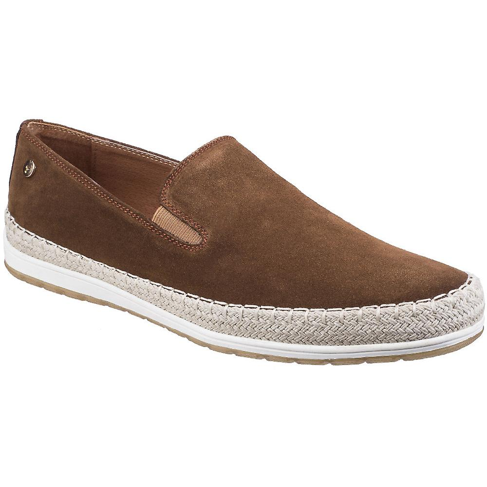 Gabicci Mens Ryder Espadrille Suede Slip On Casual chaussures