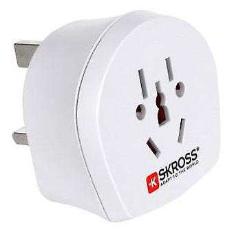 Skross Combined Universal adapter for UK (DIY , Electricity , Switches and sockets)