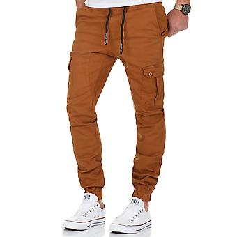L.A.B 1928 men's cargo pants camel