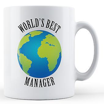 Лучший менеджер в мире - печатные кружки
