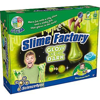 Wissenschaft 4 Sie Schleim Fabrik in dunklen Schleim Kit Leuchten