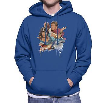 TV Times Kat And Alfie Eastenders Men's Hooded Sweatshirt