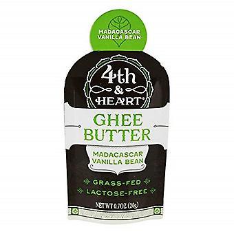 4th & Heart Grass Fed Ghee Butter Madagascar Vanilla Bean
