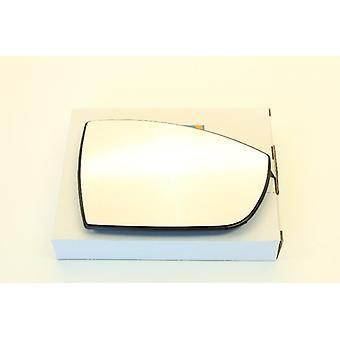Høyre driver side speil glass (oppvarmet) & holder til FORD S-MAX 2006-2015