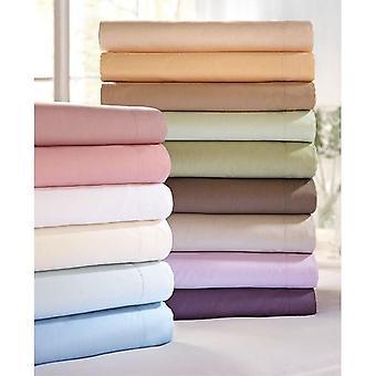 100% egyptian cotton flat bed sheet (500tc)