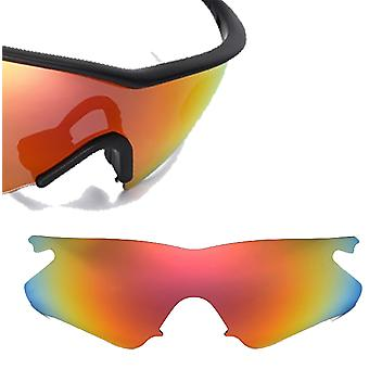 b9d52ce2066 M Frame Heater Replacement Lenses Polarized Red by SEEK fits OAKLEY  Sunglasses
