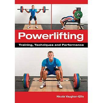 Técnicas de levantamiento de pesas - entrenamiento - y la actuación de Nicola Vaughan