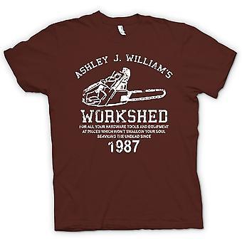 Mens T-shirt-Evil Dead - Ash Williams - Chainsaw