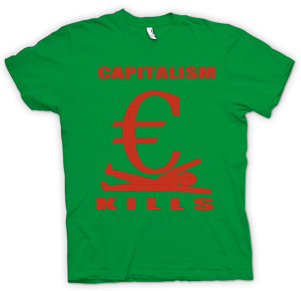 Hommes T-shirt - capitalisme Kills - G20