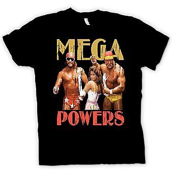 Mens T-shirt - Mega Powers - Hulk Wrestling