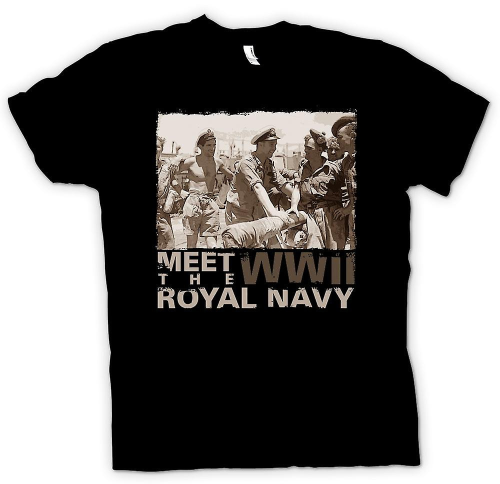 Kids T-shirt - Meet The Royal Navy WW2