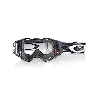 Oakley Jet Black Speed-Clear Airbrake MX Goggle
