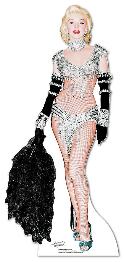 Marilyn Monroe Showgirl - Lifesize Cardboard Cutout / Standee
