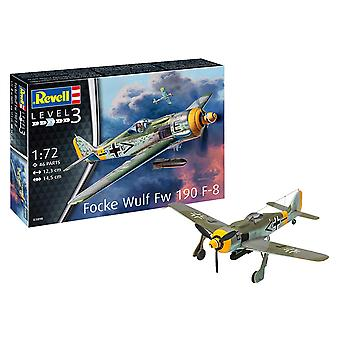 Revell 03898 Focke Wulf Fw190 1 : 72 F-8 Model Kit
