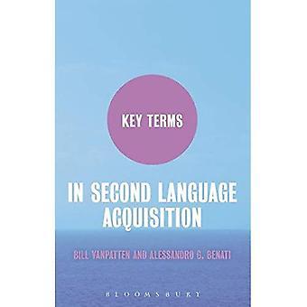 Termes clés in Second Language Acquisition