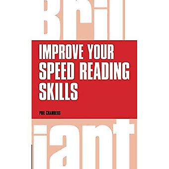 Improve Your Speed Reading Skills (Brilliant Business)