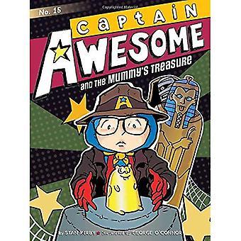 Captain Awesome och mumiens Treasure